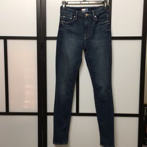 Mother High Waisted Looker Jeans size 25